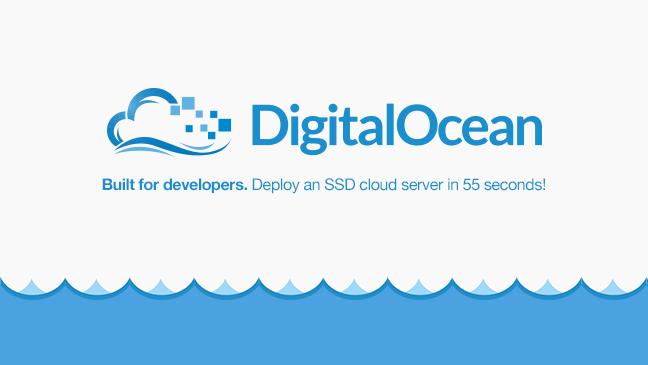digitalocean web hosting