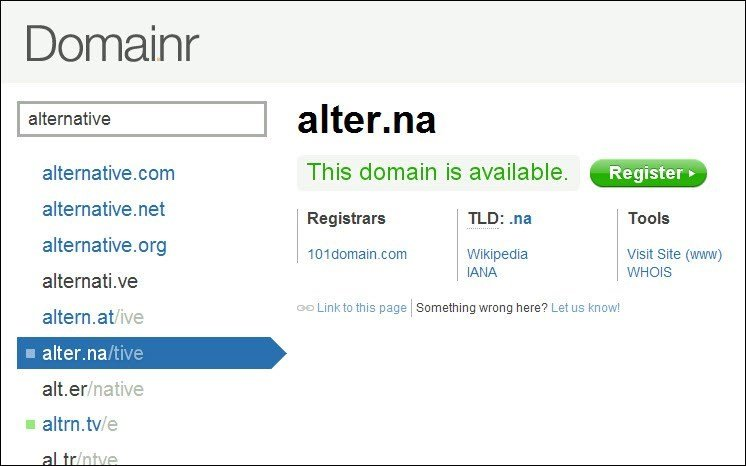 customized short URL