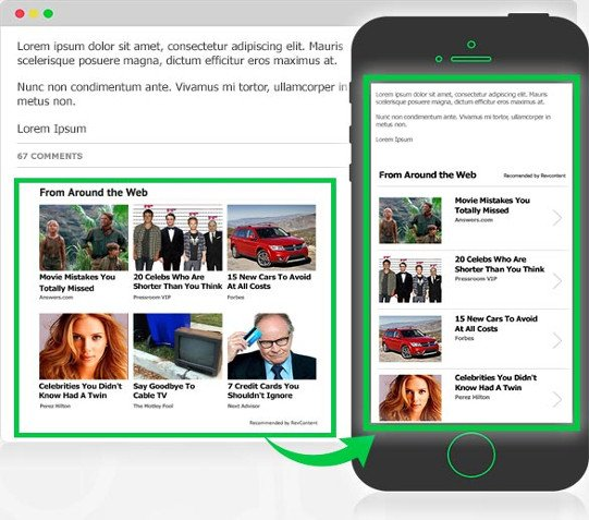 revcontent mobile