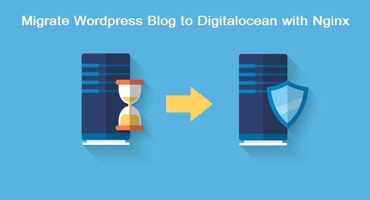 Migrate WordPress blog to digitalocean with nginx