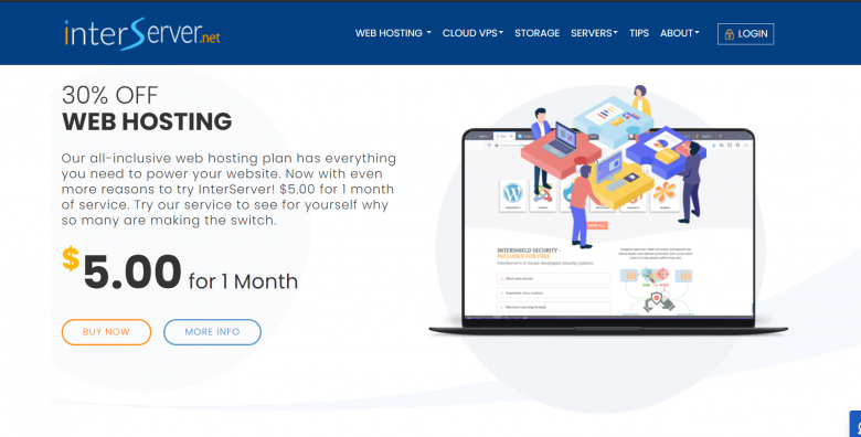 Interserver review best web hosting and features